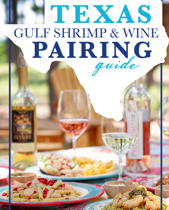 TEXAS FINE WINE LAUNCHES NEW TEXAS GULF SHRIMP AND WINE PAIRING GUIDE